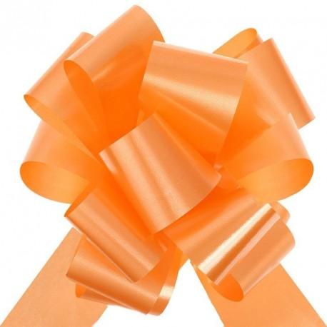 2 Noeuds à tirer orange pour voiture mariage