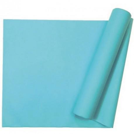 Chemin de table uni turquoise