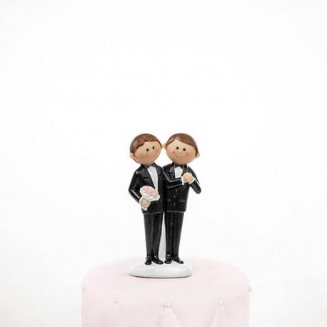 Figurine Mariage Gay Humoristique Dragees Anahita