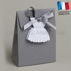 Ballotin à dragées robe de mariée