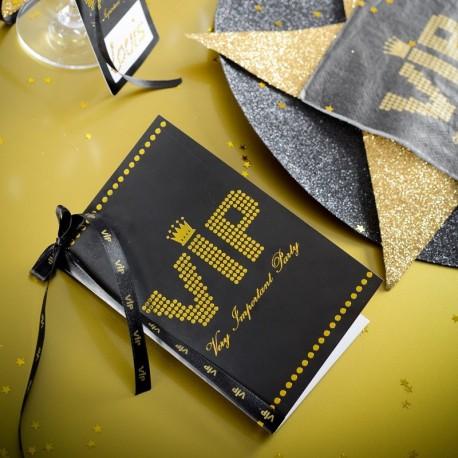 Carte de table thème VIP
