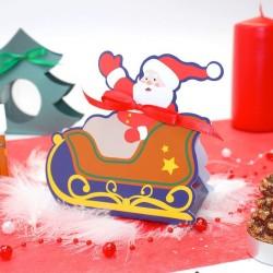 Ballotin père Noël pour chocolat