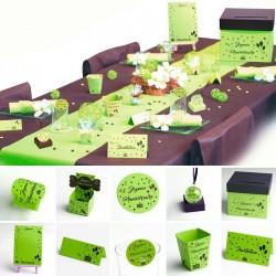 Joyeux Anniversaire sélection vert