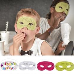 10 Masques joyeux anniversaire