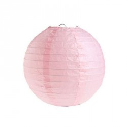 Lampion Rose 25 cm
