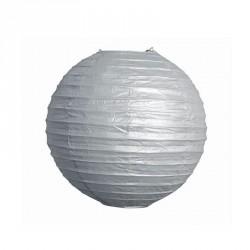 Lampion Argenté 25 cm