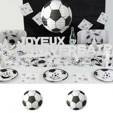 2 Lampions football 30 cm