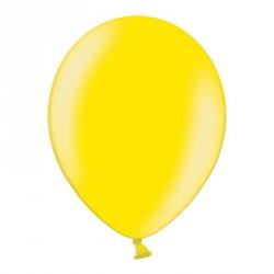 10 ballons métalisés jaune
