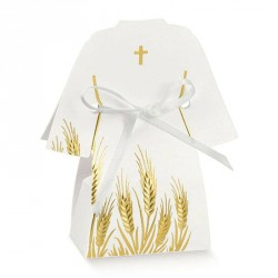 Tunique à dragées pour communion