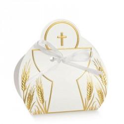 Calice à dragées nacré pour communion