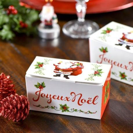 Ballotin pour chocolat Joyeux Noël