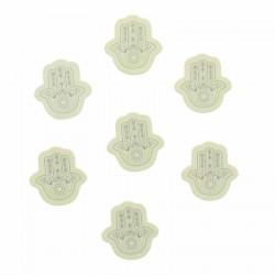 Confettis oriental main de Fatma Argent pour des effets spectaculaires