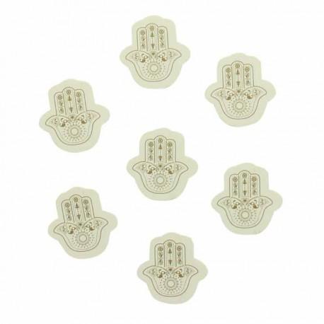 Confettis oriental main de Fatma Or confettis que vos invités vous jetteront avec joie et bonne humeur
