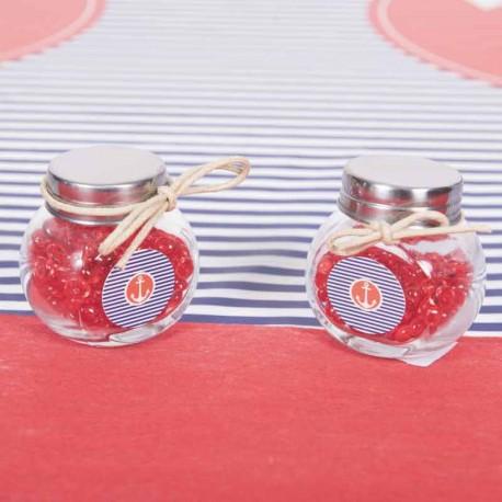 """Confettis de table thème """"Marin"""" pouvant décorer les autres accessoires de déco de table"""