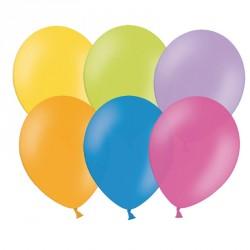 100 Ballons Multicolores 27 cm pour les événements colorés et festifs.