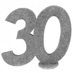 Chiffre Anniversaire  30 ans pour une touche personnalisée à la décoration de vos tables.