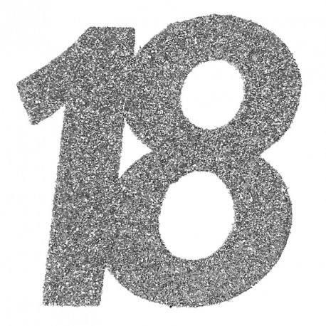 Confetti pailleté Anniversaire 18 ans pour décorer autrement votre salle de réception.