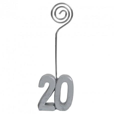 Marque-place Anniversaire 20 ans indispensable à la réussite de votre fête.