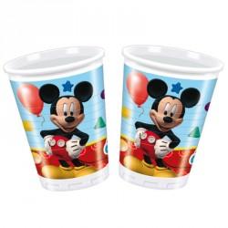 8 Gobelets Mickey 20 cl très jolis et pratiques pour servir les boissons fraîches.