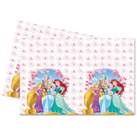 Nappe Princesses Disney en plastique 120x180cm. Finition et impression impeccables.