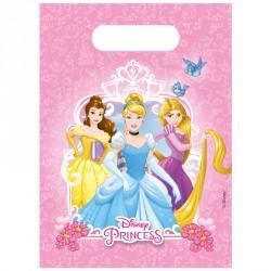 6 Sacs cadeaux Princesses Disney pour offrir en retour de petits cadeaux.