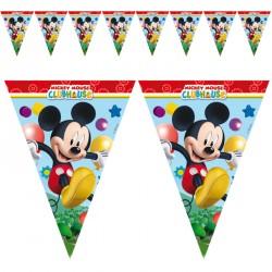 Guirlande Mickey à suspendre pour bien annoncer le thème de la fête d'anniversaire.