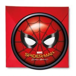 6 cartes d'invitation Spiderman + Enveloppe pour écrire un message personnalisé aux camarades de votre enfant.