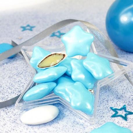 bleu N/œud de naissance en forme de c/œur et de papillons