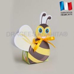 Boite à dragées abeille