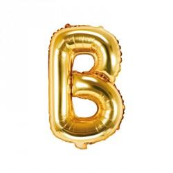Ballon Lettre B Or 35cm