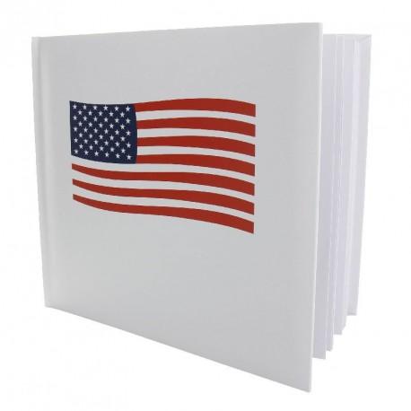 Livre d'Or USA pour un thème de fête amérique