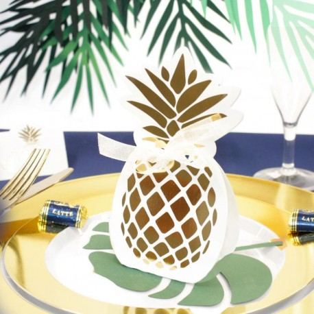 10 Contenants Dragées Ananas