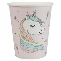 10 gobelets Licorne