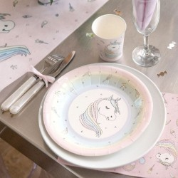 10 Assiettes Licorne pour un anniversaire magique