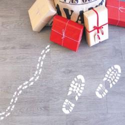 Pochoirs des bottes du Père Noël et de ses Lutins