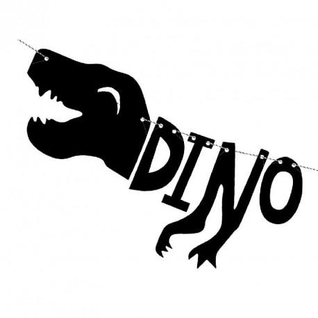 1 Guirlande Dinosaure
