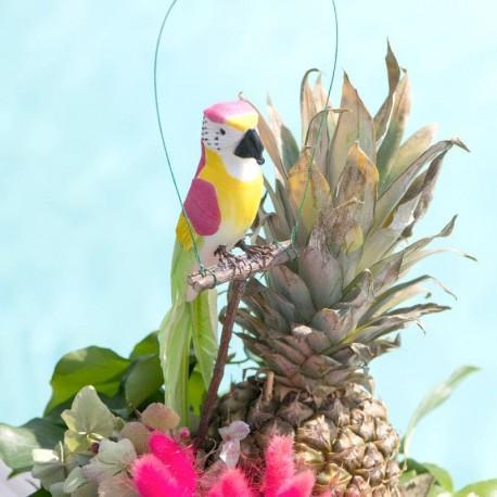 Perroquet Fuchsia pour décoration