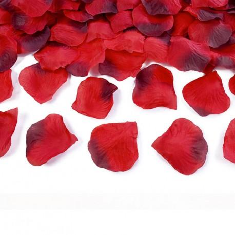 500 Pétales de Rose Rouge