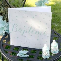 Livre d'or Baptême Garçon
