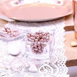 Perles de sucre Rose gold 100gr