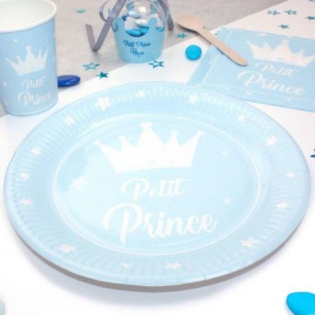 10 Assiettes Petit Prince 23cm