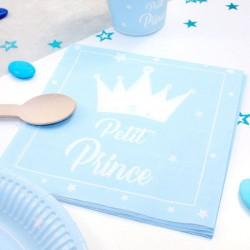 20 serviettes Petit Prince 33cm