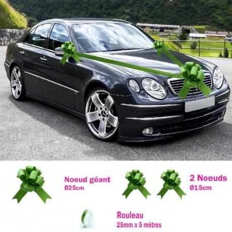 Kit voiture mariage Végétal