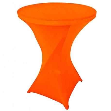 Housse mange debout 110 x 80 cm orange Spandex