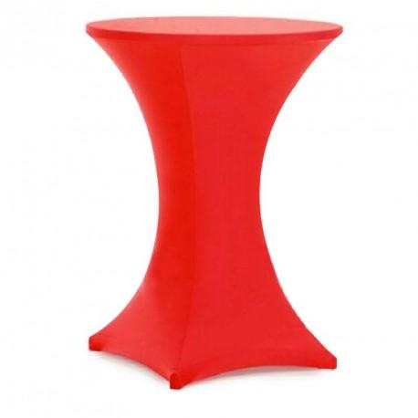 Housse mange debout 110 x 80 cm Rouge Spandex