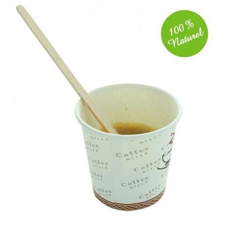 40 Agitateurs à café en Bambou