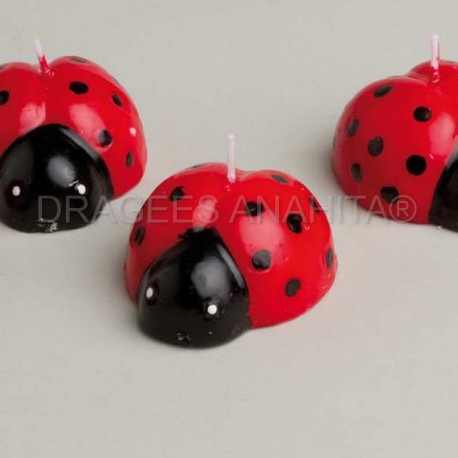Bougie coccinelle