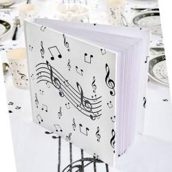 Livre d'or musique 54 pages