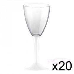 Verre à vin blanc  x10