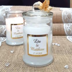 10 Bougies Personnalisées Bonbonnière